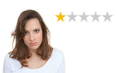 Responding to negative dental reviews